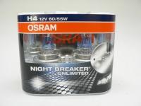 Žárovka H4 OSRAM NIGHT BREAKER® UNLIMITED, 2 ks