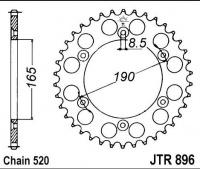 Rozeta KTM 600 LC4 Enduro, rv. 88-89