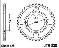 Rozeta YAMAHA RS 125 DX, rv. 76-84