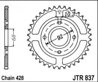 Rozeta YAMAHA RD 125 DX Alloy Wheel, rv. 78-81