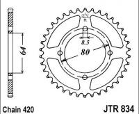 Rozeta YAMAHA RD 50 M Alloy Wheel, rv. 79-80