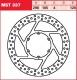 Brzdový kotouč přední Aprilia 125 Pegaso (ET), rv. 89-99